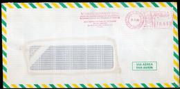 Brasil - 1988 - Lettre - Cachet Spécial - Affranchissement Mécanique - Momsen, Leonardos & CIA - A1RR2 - Cartas