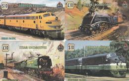 4 PREPAID PHONE CARD TRAIN (PV1158 - Trenes