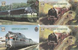 4 PREPAID PHONE CARD TRAIN (PV1159 - Trenes