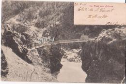 Aosta Saint Vincent Sulla Dora Le Pont Aux Chevres Autografo N. Ansaldo - Unclassified