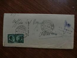 Documento Viaggiato Del 1941 - Storia Postale