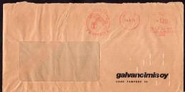 Finland - 1975 - Lettre - Cachet Spécial - Affranchissement Mécanique - Galvanoimis OY- A1RR2 - Cartas