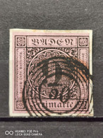 Baden Mi-Nr. 4 Briefstuck Sauber Gestempelt - Baden