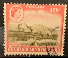 RHODESIA - (0)  - 1959-1963 - # 170 - Rhodesien & Nyasaland (1954-1963)