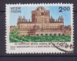 India 1995 Mi. 1474    2.00 (R) La Martiniere College Luchnow - Used Stamps