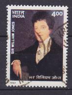 India 1997 Mi. 1573    4.00 (R) William Jones, British Orientalist & Jurist - Used Stamps