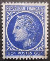 FRANCE Cérès De Mazelin N°674 Oblitéré - 1945-47 Cérès De Mazelin
