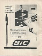 LAMINA 12368: Publicidad De Bic - Unclassified