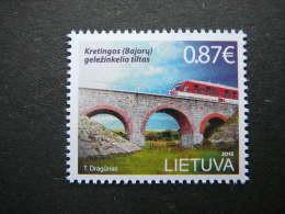 Railway Bridge Of Kretinga # Lietuva Litauen Lituanie Litouwen Lithuania # 2015 MNH #Mi. 1191 - Litouwen