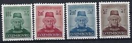 Luxembourg - Luxemburg - Timbres 1946 Caritas  Série Jean L'Aveugle * - Blokken & Velletjes