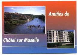 88 CHATEL SUR MOSELLE  Amitiés Multivues Moselle Maison De Retraite Carte Vierge TBE - Chatel Sur Moselle