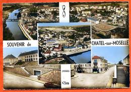 88 CHATEL SUR MOSELLE  Multivues CIM  Dentelée Carte Vierge TBE - Chatel Sur Moselle