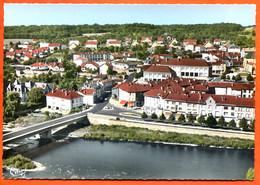 88 CHATEL SUR MOSELLE  Vue Panoramique Aérienne Et Pont Sur La Moselle CIM Dentelée Carte Vierge TBE - Chatel Sur Moselle