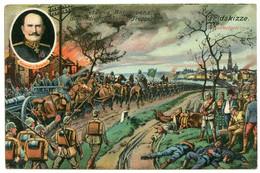 Guerre 14-18.les Troupes Allemandes Occupent Anvers.besetzung Antwerpen Durch Die Deutschen Truppen.général Von Beseler. - War 1914-18