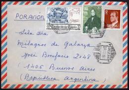 España - 1982 - Carta - Via Aerea - Enviada A Argentina - A1RR2 - 1981-90 Cartas