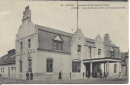 Gare Du Chemin De Fer Du Pacifique Canadien, Québec, ND Photo #353, (A.780) - Québec - La Cité