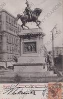 CARTOLINA  NAPOLI,CAMPANIA,MONUMENTO VITTORIO EMANUELE II,CULTURA,IMPERO ROMANO,BELLA ITALIA,STORIA, VIAGGIATA 1930 - Napoli (Naples)