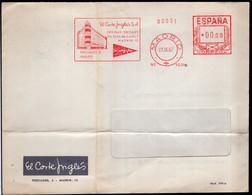 España - 1967 - Carta - Via Aerea - El Corte Ingles SA - A1RR2 - 1961-70 Cartas