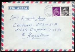 España - 1992 - Carta - Via Aerea - Enviada A Argentina - Rey Juan Carlos - A1RR2 - 1991-00 Cartas