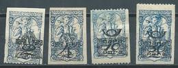 Yougoslavie Timbres Pour Journaux YT N°18-19-21-22 Timbres Surchargé Neuf/charnière * - Dagbladzegels