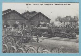 CP 61 - Argentan - Le Dépôt, Compagnie Du Chemin De Fer De L'ouest - Edition Ouest France - Argentan