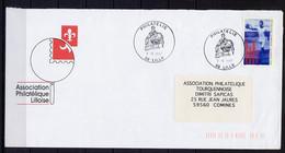 Lil3O48 Lille(59)  Obl. GF Philatélie 07/04/1987 / YvT 3016 Centenaire JO 3.00 - Gedenkstempels