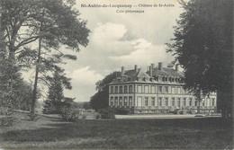 "CPA FRANCE 72 ""Saint Aubin De Locquenay, Château De Saint Aubin"" - Other Municipalities"
