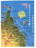 (II 24) (ep) Australia - QLD - Map - Landkaarten