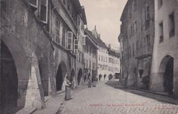 "ANNECY "" Les Arcades Animée  ""     N°9527 - Annecy"
