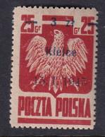 POLAND 1945 Kielce Fi 353 Mint Hinged - Nuovi