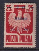 POLAND 1945 Radom Fi 352 Mint Hinged - Nuovi
