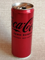 "KAZAKHSTAN.  DRINK   ""COCA-COLA""  ZERO SUGAR.. CAN..330ml. 2021 - Cans"