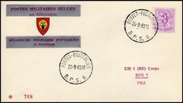Enveloppe / Envelop / Briefumschlag / Envelope - FBA - BPS6 - Militares (Sellos M)