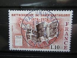 """VEND BEAU TIMBRE DE FRANCE N° 1985 , OBLITERATION """" PAU-UNIVERSITE """" !!! - Used Stamps"""