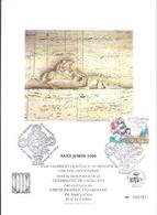 TARJETA 20X15  MATASELLOS SANT JORDI  1996 - 1991-00 Cartas