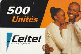 Congo (Kinshasa)- Celtel - Couple At The Phone (31/12/2003) - Congo
