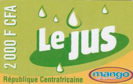 Central African Republic - Mango - Le Jus 2000 F CFA - Central African Republic