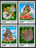 Guinea  2019  Fauna  Butterflies S201903 - República De Guinea (1958-...)