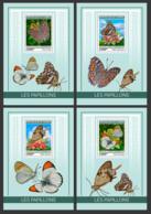 Guinea  2019  Fauna  Butterflies MS   S201903 - República De Guinea (1958-...)