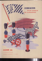 PC149 - PROTEGE CAHIER -   ZEBRACIER  Pour Dessus De Cuisinières - Book Covers