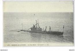"""Marine De Guerre-Le Sous-marin """"la Loutre"""" - Guerra"""