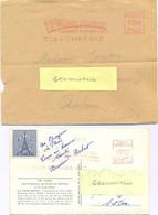 2 EMA HAVAS C. 1559 – 4180 PARIS LA TOUR EIFFEL SOMMET 300 MÈTRES - EMA (Empreintes Machines à Affranchir)