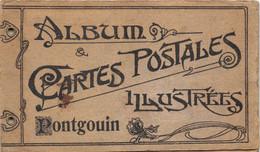 28-PONTGOUIN- RARE- PETIT ALBUM DE 12 PETITES CARTES DE PONTGOUIN - Unclassified