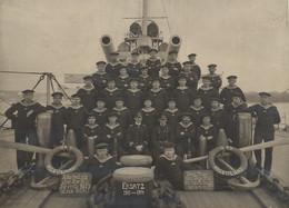 ° S.M.S. HELGOLAND ° KAISERLICHE MARINE ° LES MARINS °  Légende Et Liste Des Marins Au Dos ° - War, Military