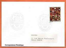 AUTRICHE  SALON PHILATELIQUE PARIS  1993 Lettre Entière N° RS 29 - 1991-00 Cartas