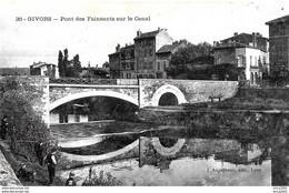Givors. Le Pont Des Fainéants Sur Le Canal. - Givors
