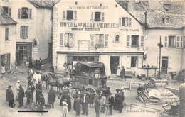 12-LE MUR DE BARREZ- DEPART DU COURRIER - Other Municipalities