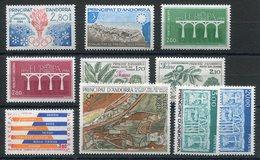 RC 19315 ANDORRE COTE 32€ - 1984 ANNÉE COMPLETE SOIT 10 TIMBRES N° 327 / 336 NEUF ** MNH TB - Années Complètes