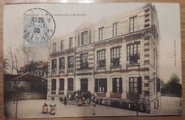 Carte Postale Chaumont école Communale Et Maternelle 1905 Couleur - Chaumont