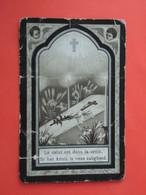 Henricus Depuydt Zoon Van Corteville Geboren Te Rumbeke 1892  En Overleden  1918   (2scans) - Religion & Esotericism